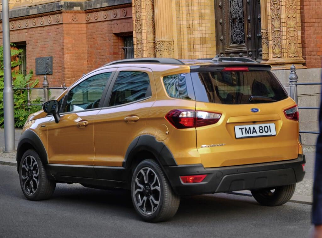 Ford EcoSport Active: trasera.