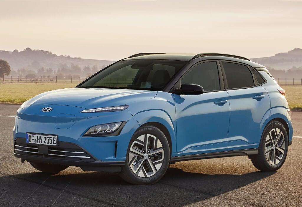 Hyundai Kona Eléctrico 2021, nueva cara sin mejoras de autonomía