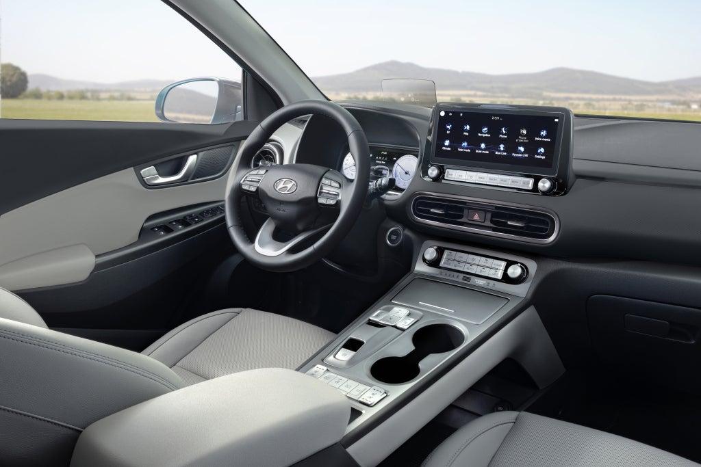 Hyundai Kona Electric 2021: interior.