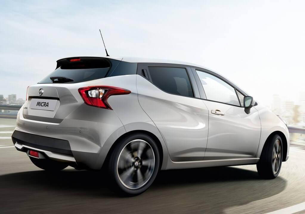 Nissan Micra 2021: zaga.