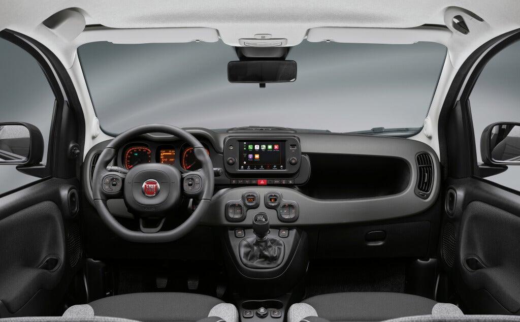 Fiat Panda 2021: interior.