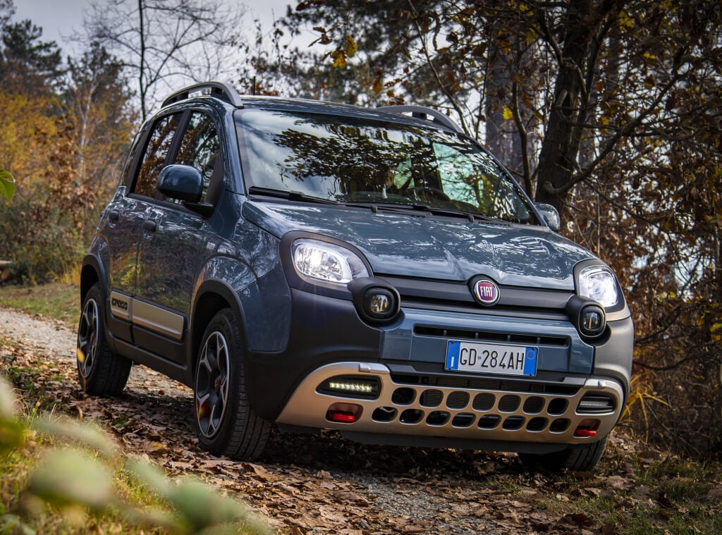 Fiat Panda Cross 2021: frontal.