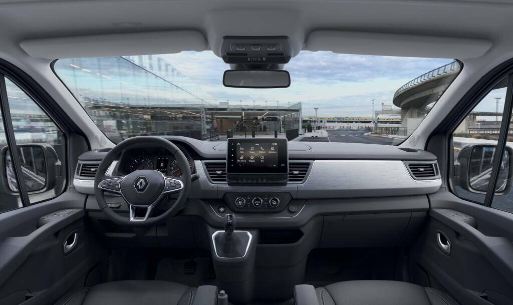 Renault Trafic 2021, salpicadero.