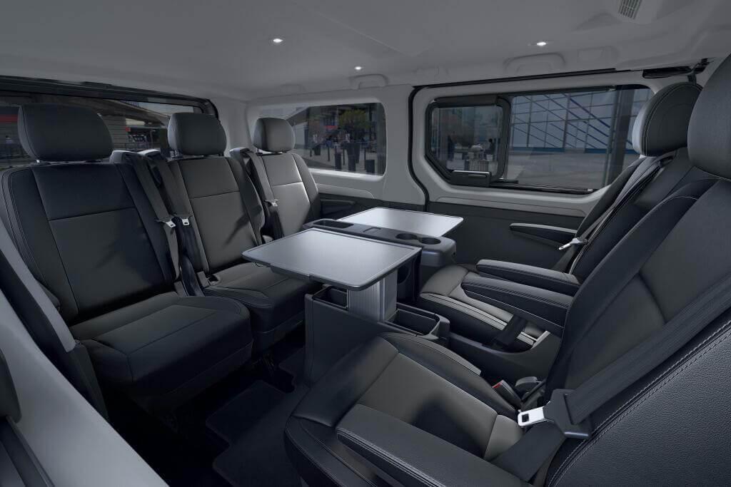 Renault Trafic 2021, plazas traseras.