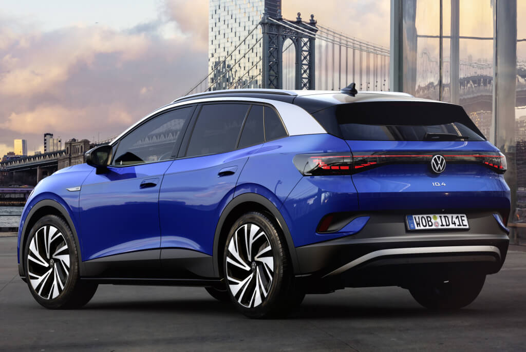 Volkswagen trasera.