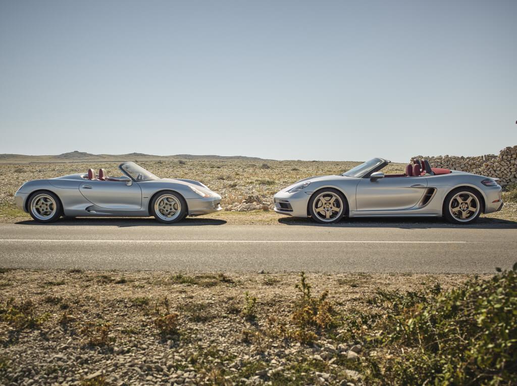 Porsche Boxster 25 Aniversario, el biplaza alemán cumple un cuarto de siglo