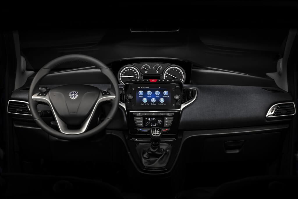 Lancia Ypsilon 2021: interior.
