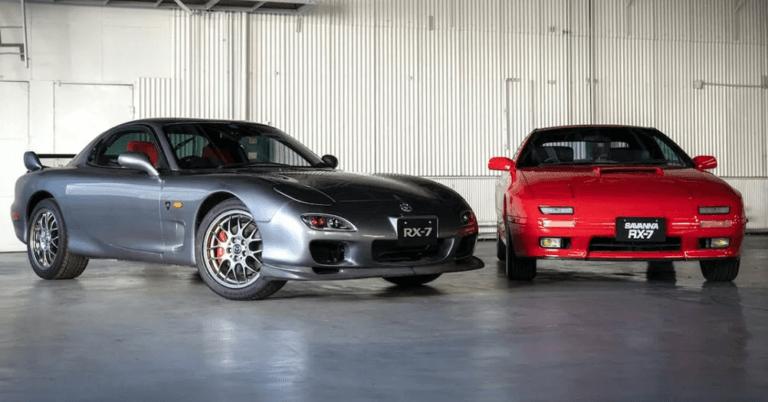 Mazda cuida su patrimonio y producirá recambios originales para el Mazda RX7