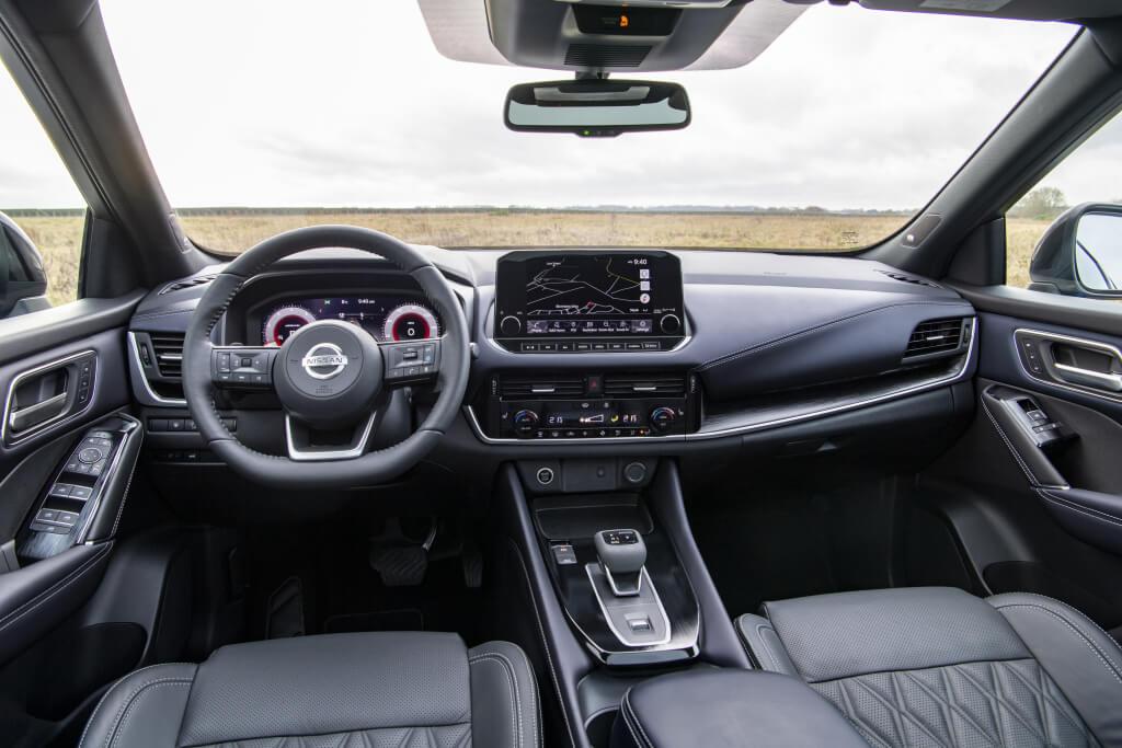 Nissan Qashqai 2021: interior.