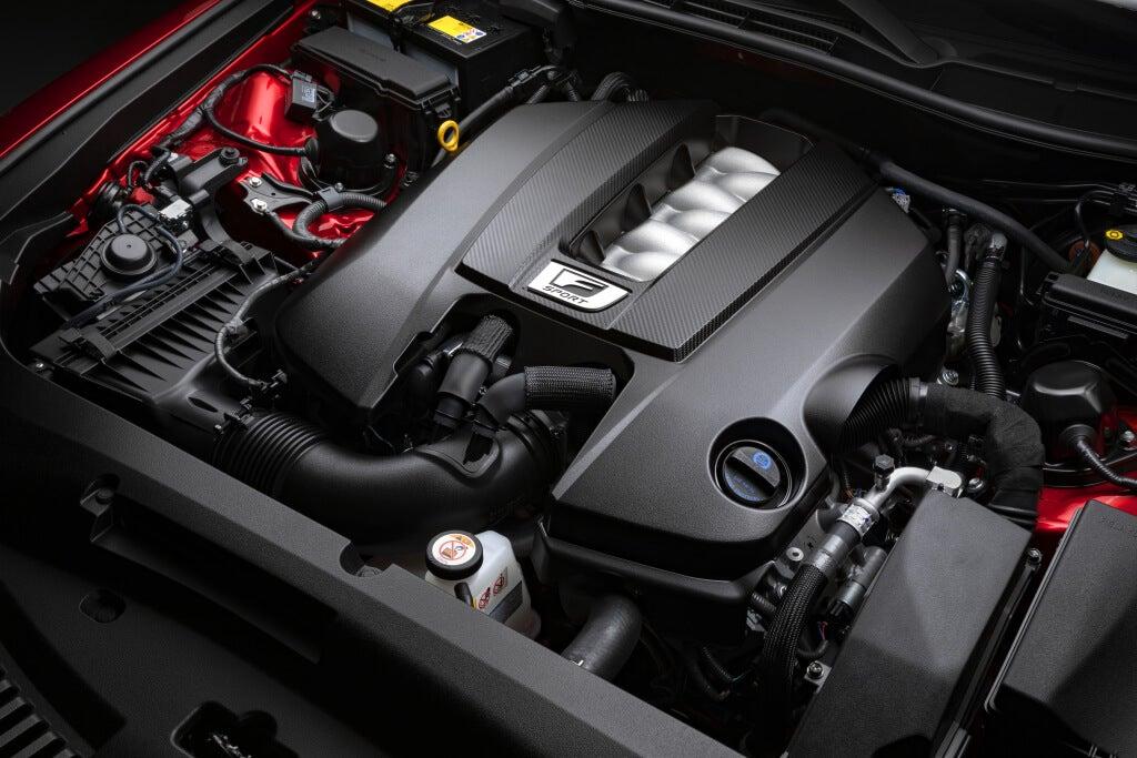 Lexus IS500 F Sport: motor.