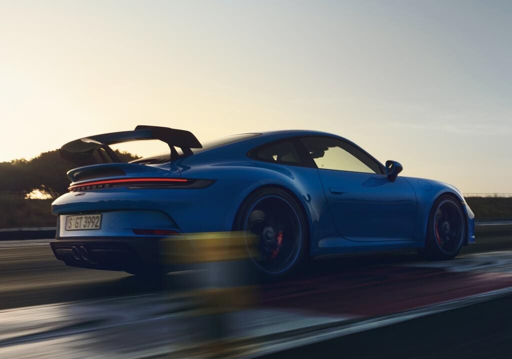 Porsche 911 GT3 2021: perfil.