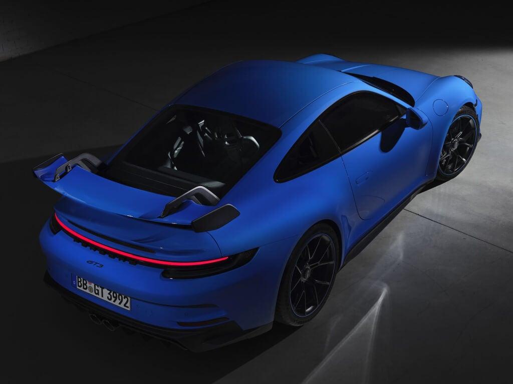 Porsche 911 GT3 2021: techo.