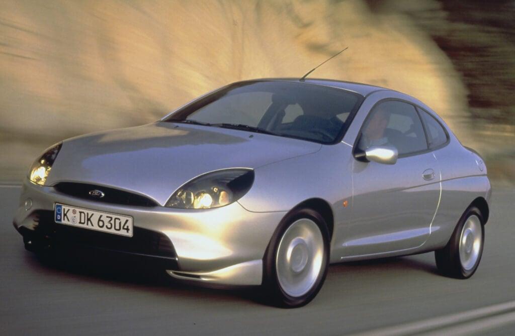Ford Puma: frontal.