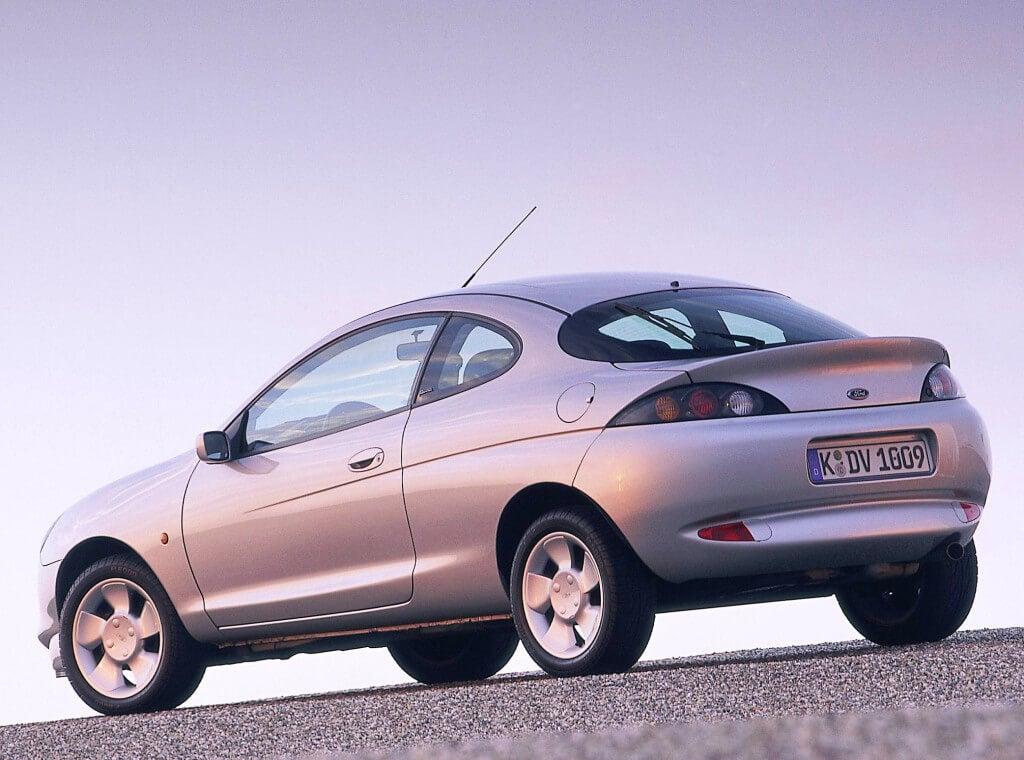 Ford Puma: trasera.