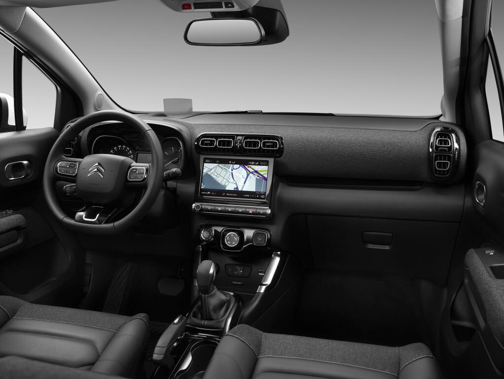 Citroën C3 Aircross: interior.