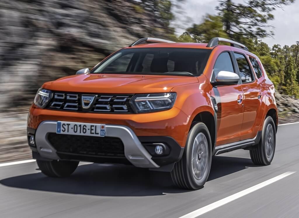 Dacia Duster 2021: frontal.