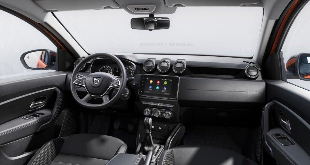 Dacia Duster 2021: interior.