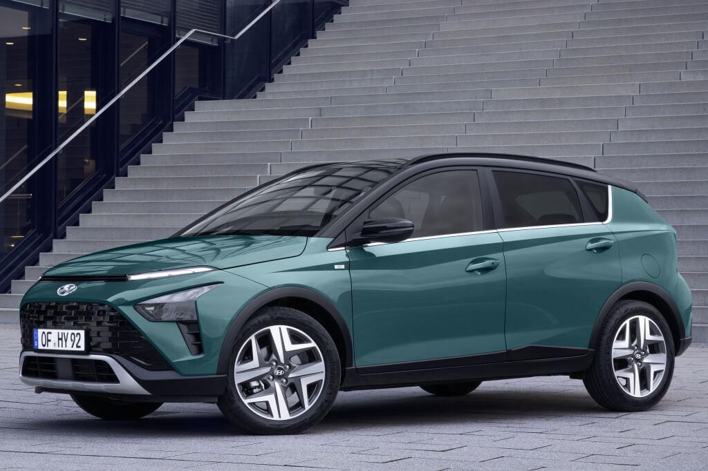 Hyundai Bayon: frontal.