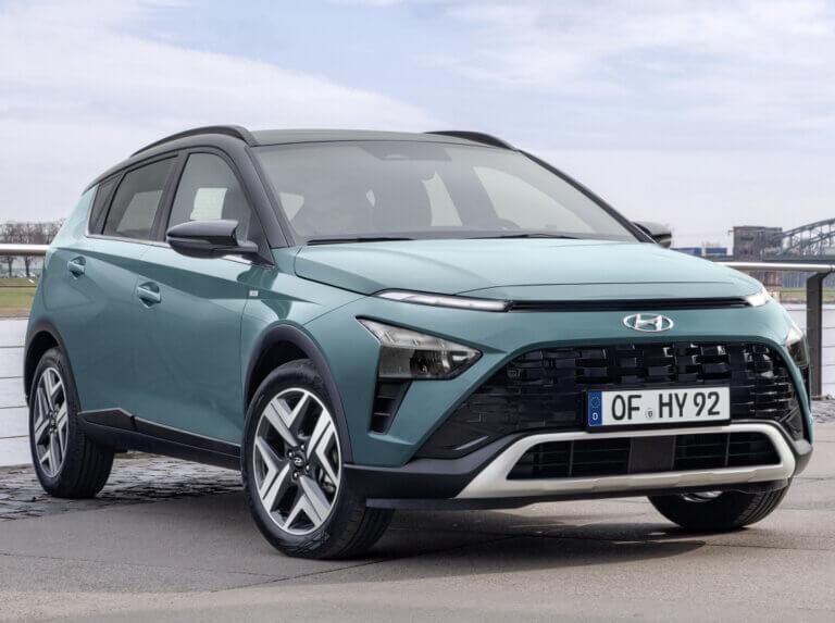 Nuevo Hyundai Bayon, el hermano pequeño del popular Kona