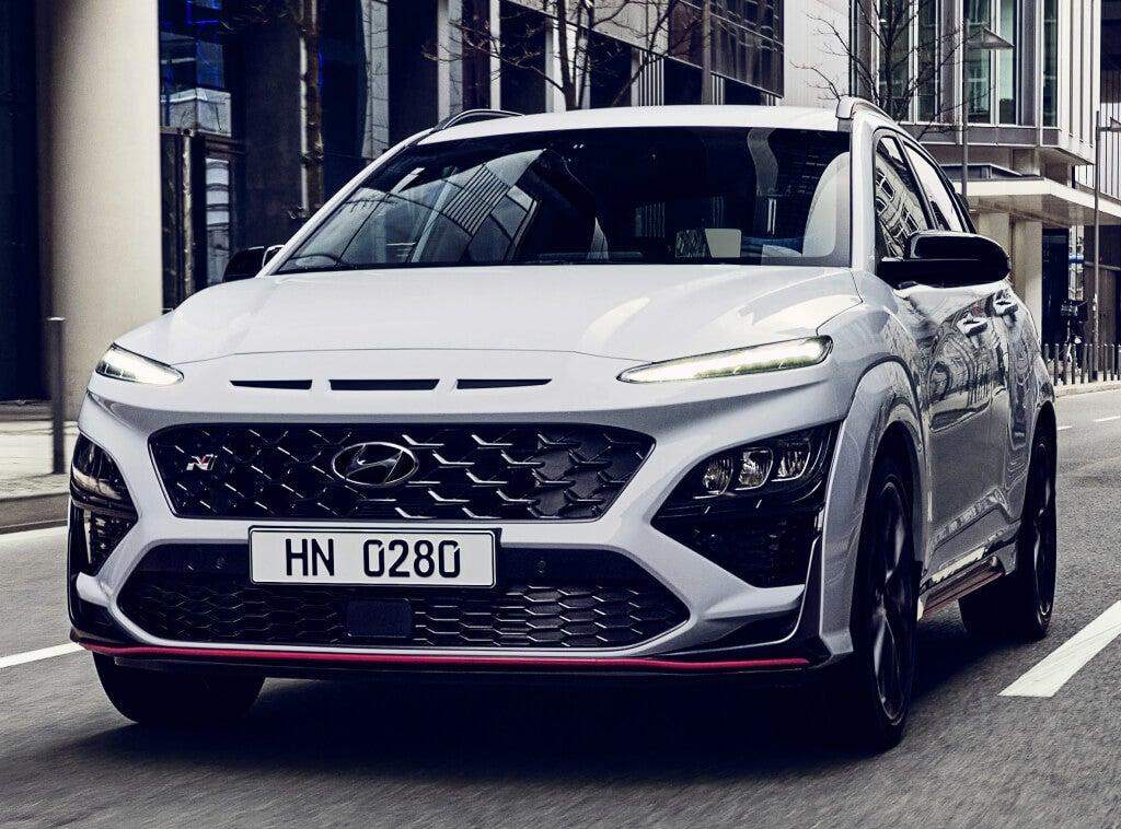 Hyundai Kona N: frontal.