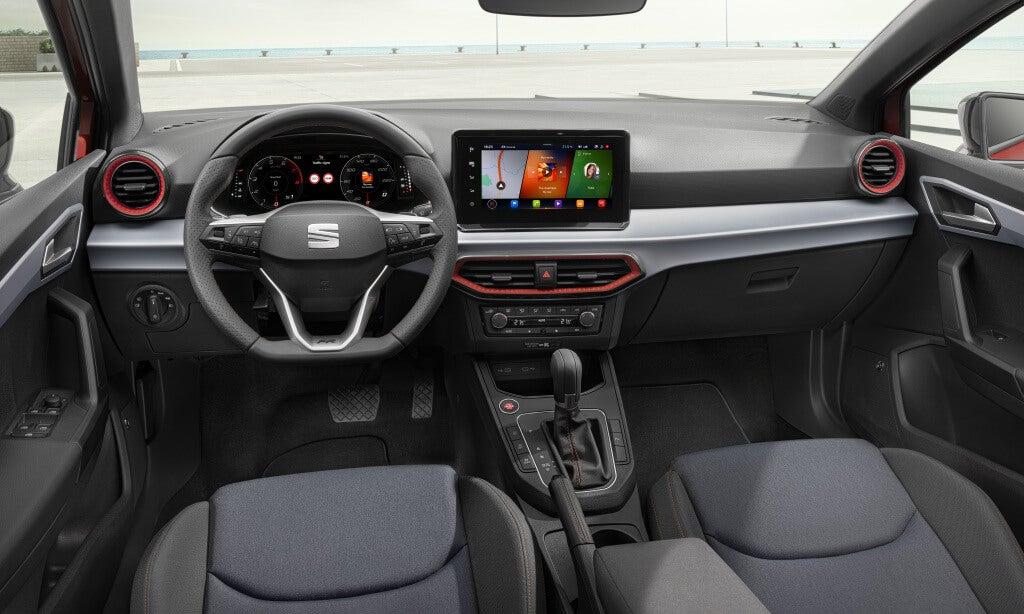 SEAT Ibiza 2021: interior.
