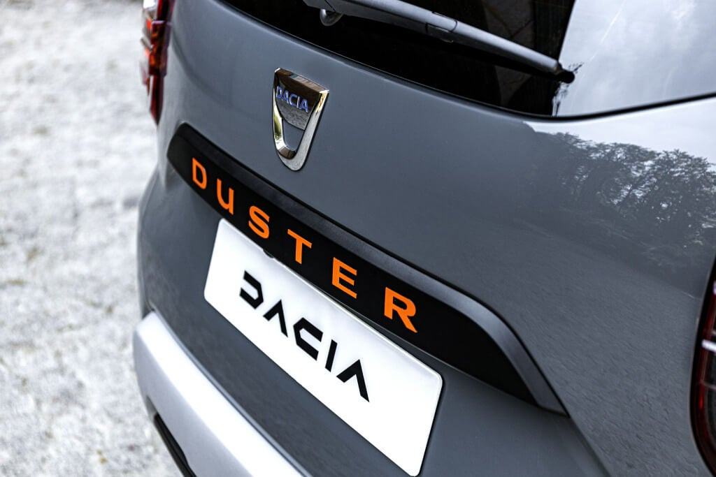 Dacia Duster Extreme: detalle.