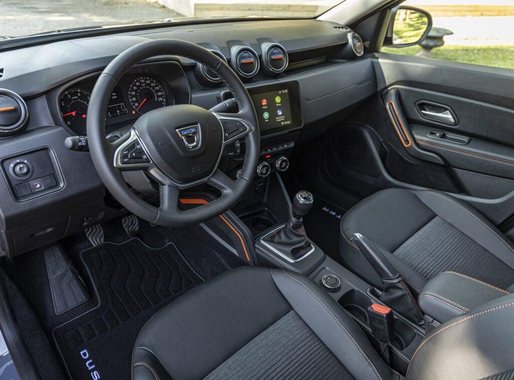 Dacia Duster Extreme: interior.