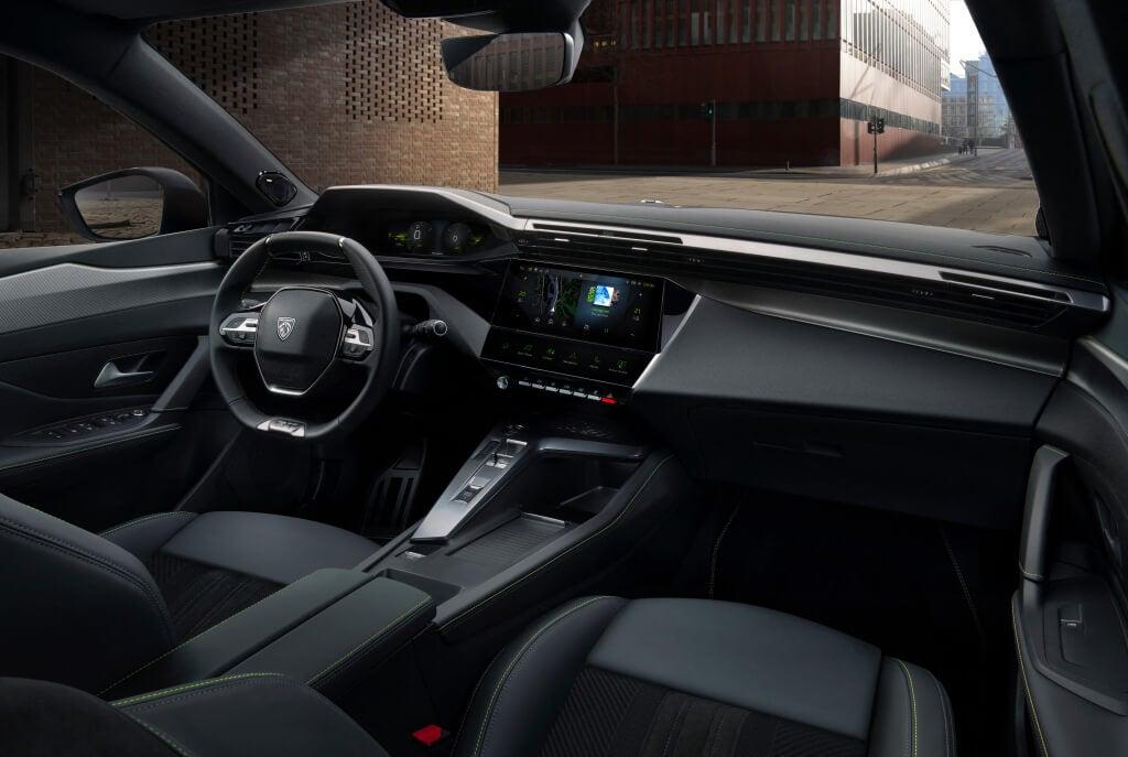 Peugeot 308 2022: interior.