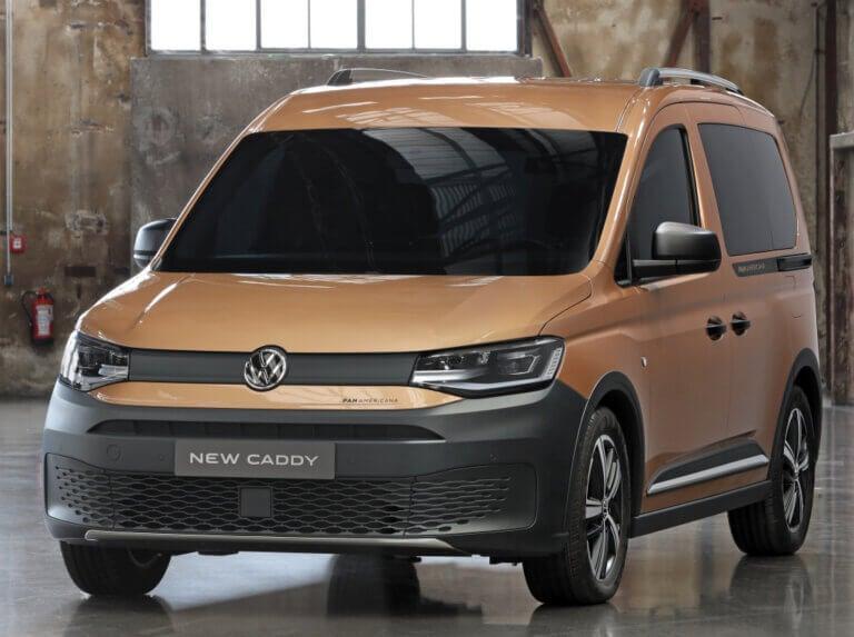 Volkswagen Caddy Panamericana, influencia aventurera