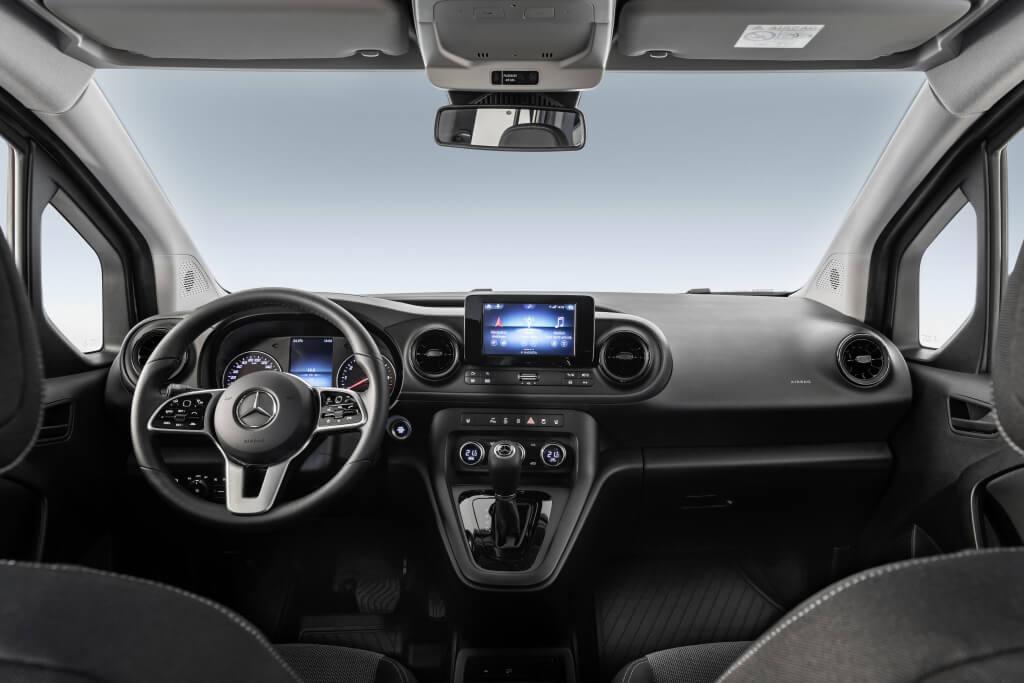 Interior del Mercedes Citan 2021.