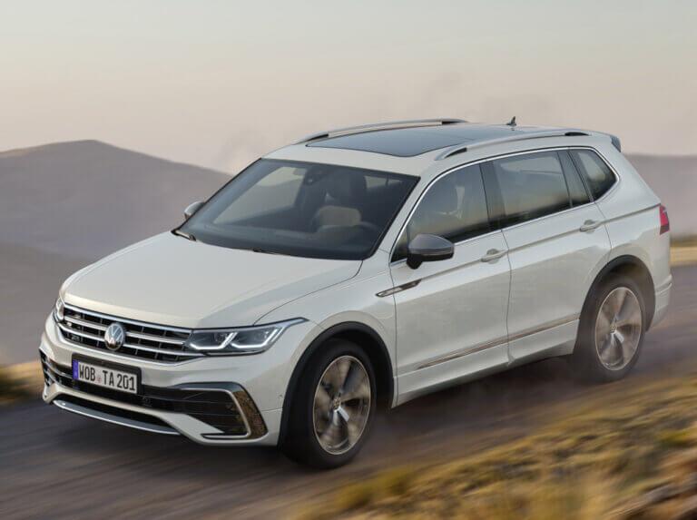 Volkswagen Tiguan Allspace 2021, renovación a medias